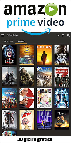 Amazon Prime Video - 30 days FREE TRIAL (IT)